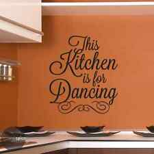 This Kitchen Is For Dancing Vinyl Wall Decal Sticker