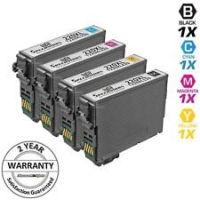 4 Ink Cartridges for Epson 220 XL T220 WorkForce WF-2750 WF-2760 Black & Color