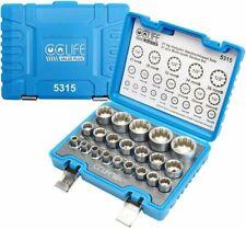 CCLIFE 5315 1/2 Zoll Steckschlüsselsatz - 21-teilig, 8-36mm