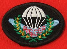 AUSTRALIAN DEFENCE FORCES RIGGER QUALIFICATION PATCH FOR THE BLACK MESS UNIFORM