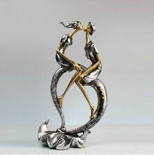 Couples Resin Figurine Lovers Kiss Statue Home And Office Handcrafts Decorations
