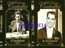 2 Dvd El Analfabeto & Su Excelencia New Dvd's