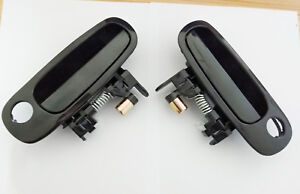 Fit Toyota Corolla Outside Exterior Front Left Right Side Door Handle 98-02 2Pcs