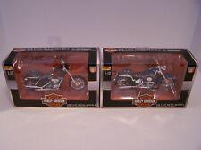 Harley-Davidson. 1:18 die cast. Series 8,9,10,12. (2000-2001).Maisto.