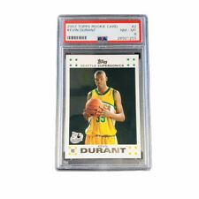 Kevin Durant 2007 Topps PSA 8 Rookie Card RC #2