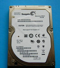 """Seagate Momentus 500GB 5400 RPM 2.5"""" ST9500325AS For Laptop Hard Drive HDD"""