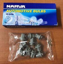 10x Dash Panel Globes 24 Volts 1.2 Watt Standard B8.5d Globe Base NARVA 47774