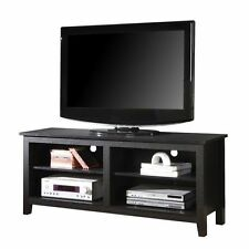 Walker Edison W58cspbl 58 In. Wood TV Console - Black