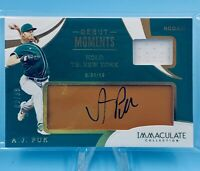 A.J. Puk 2020 Panini Immaculate Relic Glove Rookie Debut Moments Auto /99 A's📈