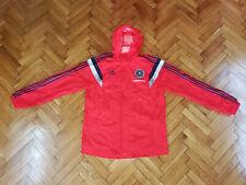 Scotland National Team Soccer Player Issue Jacket Adidas Football Rain Coat Mint