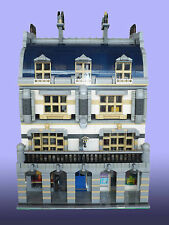 LEGO MOC Custom Modular Rivoli Arcade Main Building instructions 10243-10246 etc