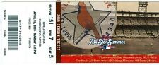 2009 Cardinals vs Astros Ticket: Kyle Lohse threw a three-hit shutout victory