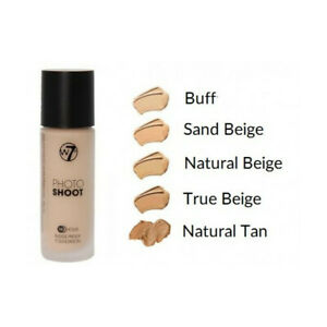 W7 PHOTO SHOOT 16 HOUR BUDGE PROOF FOUNDATION 28ML *CHOOSE YOUR SHADE*