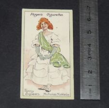 CHROMO 1912 CHARACTERS DICKENS CIGARETTE CARD KYD NICHOLAS NICKLEBY F. SQUEERS