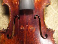 Vintage Seidel Violin, Grafted Neck, for Luthier Set Up Project, no reserve