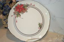 "NEW Noritake ARDMORE PLATINUM Holiday Accent Round Platter, 12"" Cake Chop Plate"