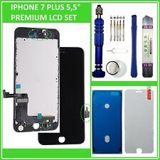 """LCD Display für iPhone 7 Plus 7+ 5,5"""" Bildschirm 3D Touch Screen Glas SCHWARZ"""