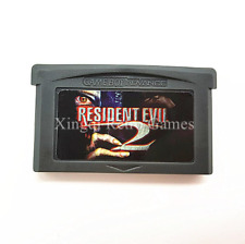 Nintendo GBA Video Game Console Card Cartridge Resident evil 2