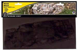 Woodland Scenics C1244 Terrain System Facet Rock Mold