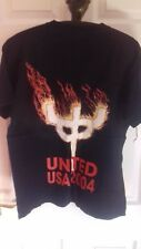 Judas Priest 2004 Tour raras oficial Medium T, Camisa