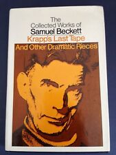 KRAPP'S LAST TAPE & Other Dramatic Pieces SAMUEL BECKETT 1st Grove hardcover