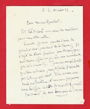CA42#-L.A.S-RAYMOND ESCHOLIER-JOURNALISTE-ROMANCIER-[RENÉ BASCHET]-1929