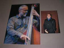 Dave Holland trio jazz SIGNED FIRMATO Autograph AUTOGRAFO su foto 20x28 in P.