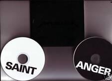 """Metallica """"saint Anger"""" 2 CD promo ue package numérique rare"""