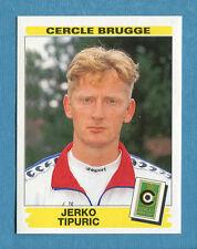 FOOTBALL 96 BELGIO Panini - Figurina-Sticker n. 84 -J. TIPURIC-C. BRUGGE-New