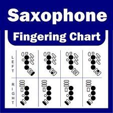 Diagramme saxophone fingering-alto / ténor et soprano nouveau