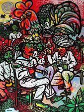 Original Art Painting Cuban Arte Cubano Artist Cuba LEONARDO RUBIO BRIDON - a1