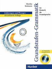 Hueber GRUNDSTUFEN-GRAMMATIK fur Deutsch als Fremdsprache m CD-ROM | Reimann @N