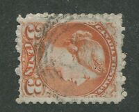 "CANADA #37/41 USED SMALL QUEEN  4-RING NUMERAL CANCEL ""38"" (.02)"