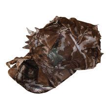 Tactical 3D Sneaky Woodland Leaf Cap Brown Leaf Camouflage Reel Tree Hat Hunting