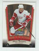 (70466) 2005-06 UPPER DECK MVP RISING TO THE OCCASION STEVE YZERMAN #RO6