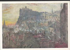Scotland Postcard - View of The Castle From George IV Bridge, Edinburgh A8323