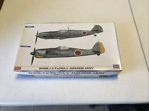 1/72 Hasegawa #02014 Bf109E & Fw190A-5 Japanese Army Dual Combo Ltd Edition