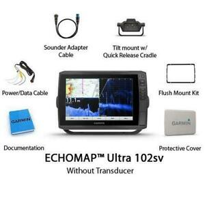 BRAND NEW Garmin ECHOMAP Ultra 102sv With Worldwide Basemap 010-02111-00