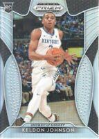 2019-20 Panini Prizm Draft Picks Basketball Silver #93 Keldon Johnson