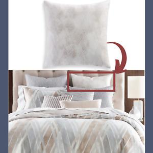 NEW Hotel Collection Lateral Cotton (1) Euro European Pillow Sham #292