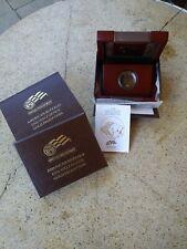 2008-W American Gold Buffalo proof  BOX ONLY and COA & original CAP (1/2 oz) 25$