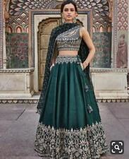 Royal Silk Lehenga Choli Chunri Designer Wedding Wear Lengha Set Ghagra Ethnic