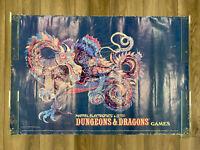"""Dungeons & Dragons RARE Vintage Dragon Poster 24""""x36"""" Mattel Electronics 1982"""