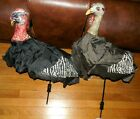 2 Turkey Hunting Decoys, Quick Draw, with Metal Rods + 1 case, Fold-Up Poly
