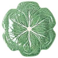 Bordallo Pinheiro Cabbage Green Dinner Plate 1941467