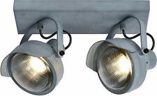 Lucide Ceiling Spotlight Cicleta Steel, Grey