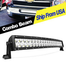24inch 280W Curved LED Light Bar Spot Flood Offroad SUV Truck 4WD ATV Boat 22''