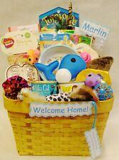 Cat gift basket, gift for cat lovers, kitten gift, cat birthday present