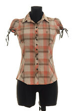 Levi's Women's checked short sleeved Shirt Size Small