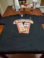 Early 2000s Houston  Astros NL Central Division cham T-shirt Black Size Xxl New